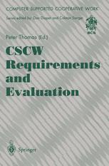 CSCW Requirements and Evaluation