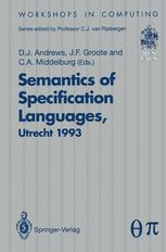 Semantics of Specification Languages (SoSL)