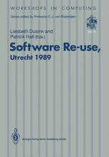 Software Re-use, Utrecht 1989