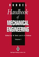 Dubbel Handbook of Mechanical Engineering