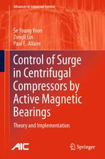 Control of Surge in Centrifugal Compressors by Active Magnetic Bearings