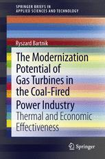 The Modernization Potential of Gas Turbines in the Coal-Fired Power Industry