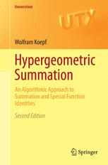Hypergeometric Summation