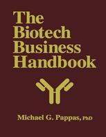 The Biotech Business Handbook