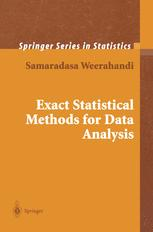 Exact Statistical Methods for Data Analysis