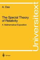 The Special Theory of Relativity