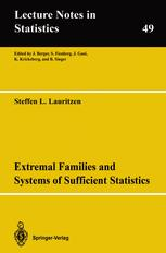 Extremal Families and Systems of Sufficient Statistics