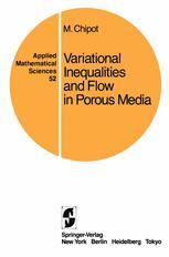 Variational Inequalities and Flow in Porous Media