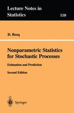 Nonparametric Statistics for Stochastic Processes