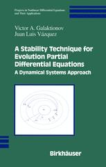 A Stability Technique for Evolution Partial Differential Equations