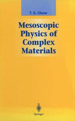 Mesoscopic Physics of Complex Materials