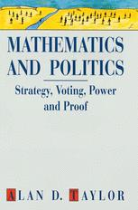 Mathematics and Politics