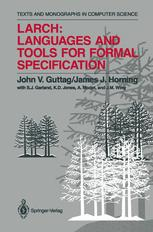 Larch: Languages and Tools for Formal Specification