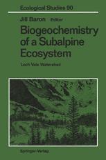 Biogeochemistry of a Subalpine Ecosystem