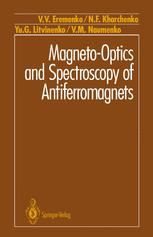 Magneto-Optics and Spectroscopy of Antiferromagnets