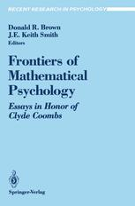 Frontiers of Mathematical Psychology