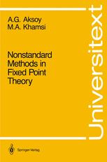 Nonstandard Methods in Fixed Point Theory