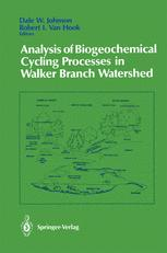 Analysis of Biogeochemical Cycling Processes in Walker Branch Watershed