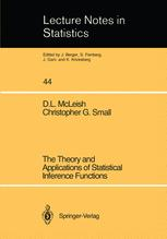 The Theory and Applications of Statistical Inference Functions