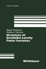 Structure of Decidable Locally Finite Varieties
