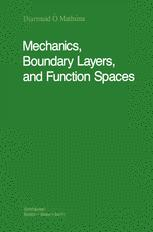 Mechanics, Boundary Layers and Function Spaces