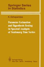 Parameter Estimation and Hypothesis Testing in Spectral Analysis of Stationary Time Series