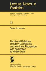 Functional Relations, Random Coefficients, and Nonlinear Regression with Application to Kinetic Data