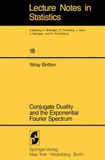 Conjugate Duality and the Exponential Fourier Spectrum