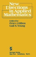 New Directions in Applied Mathematics