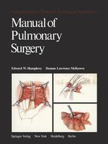 Manual of Pulmonary Surgery