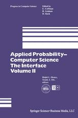 Applied Probability— Computer Science: The Interface