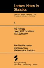 The First Pannonian Symposium on Mathematical Statistics