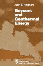 Geysers and Geothermal Energy