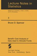 Benefit-Cost Analysis of Data Used to Allocate Funds