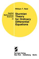 Sturmian Theory for Ordinary Differential Equations