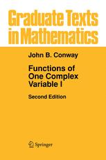 Functions of One Complex Variable I