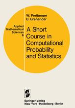 A Course in Computational Probability and Statistics