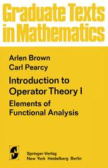 Introduction to Operator Theory I