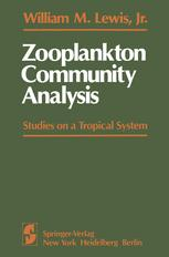 Zooplankton Community Analysis