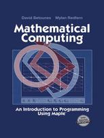 Mathematical Computing