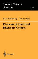 Elements of Statistical Disclosure Control