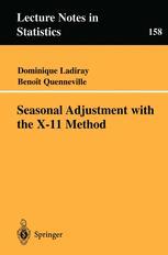 Seasonal Adjustment with the X-11 Method