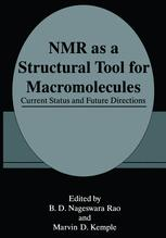 NMR as a Structural Tool for Macromolecules