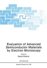 Evaluation of Advanced Semiconductor Materials by Electron Microscopy