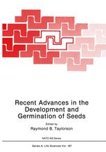 Recent Advances in the Development and Germination of Seeds