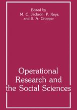 Operational Research and the Social Sciences