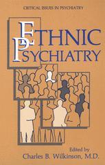 Ethnic Psychiatry