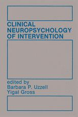 Clinical Neuropsychology of Intervention