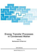 Energy Transfer Processes in Condensed Matter