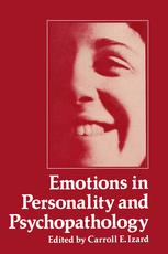 Emotions in Personality and Psychopathology